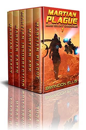 Mars Colony Chronicles (Books 1 – 5): A Space Opera Box Set Adventure